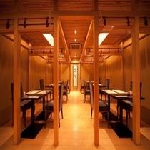 レストラン『海山の蔵』洋席
