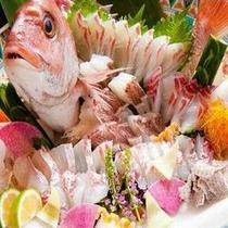 地魚懐石(関鯛)
