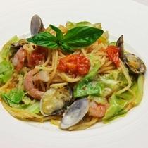 【レストランFILLY】 魚介のパスタ
