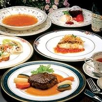 欧風コース料理