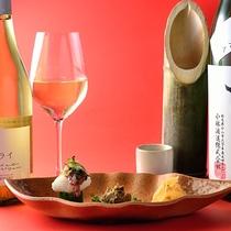 □シニアプラン特典 『本日の強肴&地酒か地ワイン』付き