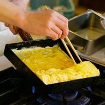 【朝食メニュー】手作り玉子焼き