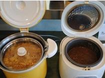 味噌汁とカレー
