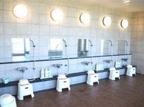 大浴場、洗い場
