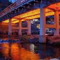 音信川の夕景