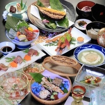 季節会席料理(7〜8月)
