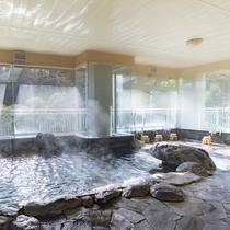 *【風呂(大浴場・男性)1】古代から地中に閉じ込められ残ったと考えられている温泉です♪