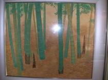 竹の日本画