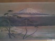 富士の絵 日本画