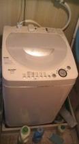 無料洗濯機