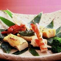 【前菜一例】彩り豊かな前菜は目でもお楽しみいただけます