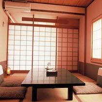 【和室8畳一例】夕食はお部屋でお召し上がりください