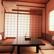 【和室8畳一例】木のぬくもりを感じていただけるお部屋です