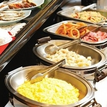朝食「バイキングコーナー」