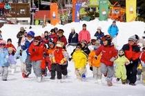 家族が集まるかたしな高原スキー場