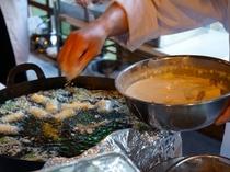 旬の山菜を天ぷらで