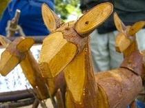 アクティビティセンターで行う木工体験