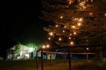 夜は花火や星空鑑賞が楽しめます