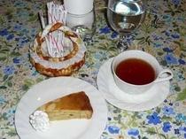 奥様手作りのデザート一例