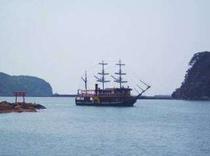 湾内遊覧船・黒船サスケハナ