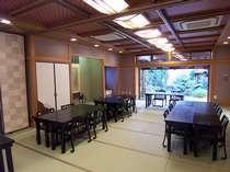 食事に使用する宴会場