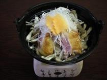 赤城鶏ときのこ鍋