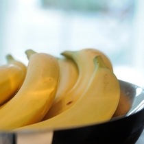朝食バナナ