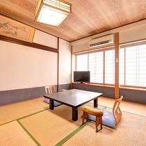 *和室7畳(客室一例)/純和風の客室は気品ある落ち着いた風情。ごゆっくりお寛ぎ下さい。