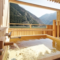 露天風呂付和室ヒノキ2