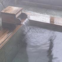 *大浴場/温かい湯船にゆっくりと浸かり、癒しのひと時をお過ごし下さい。