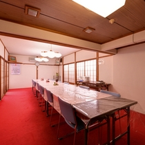 *ご朝食会場/心に沁み入る和の朝ごはんはこちらで。山形産のコシヒカリは美味しさが引き立つ鍋炊きで。