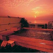 展望露天風呂「落日の湯」
