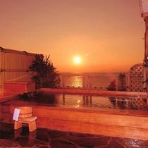 露天風呂「落日の湯」