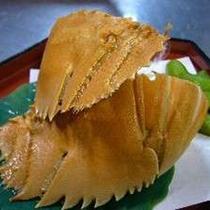 【料理一例】橘湾特産のうちわ海老
