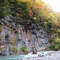 【四季折々の季節が楽しめる】秋の松川渓谷