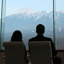 【展望ロビー】12階からの景色は絶景♪