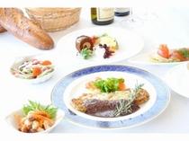 洋食コース「プラージュ」