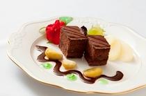 ホテル特製デザート