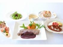ディナー洋食コース