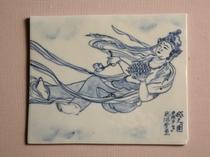 飛天之図(陶板)