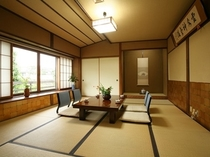 【桂月の間】和室10畳+6畳 小田温泉特別室