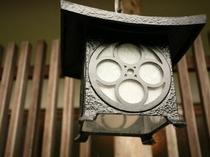 民芸調 鉄の街燈