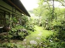 【清泉亭】お庭