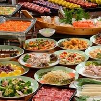 大平原の「恵」夕食バイキング