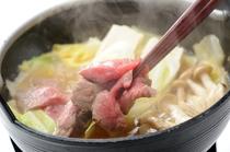 桜鍋(馬肉鍋)