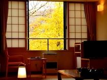 3階客室からの紅葉