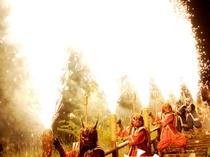 地獄の谷の 【鬼花火】