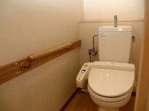 【客室・全室】温水洗浄器付きトイレ