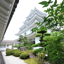 日本唯一の城型宿泊施設です♪