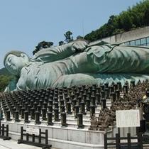 篠栗四国霊場総本寺第一番札所 南蔵院の釈迦涅槃像